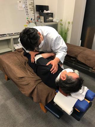 神戸市男性(71歳)腰痛・スポーツ障害